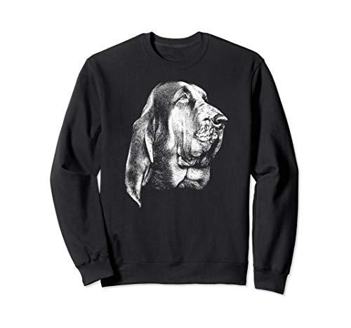 Bloodhound Dog Breed - Bloodhound Dog Breed SAR Search Rescue Canine K-9 Sweatshirt
