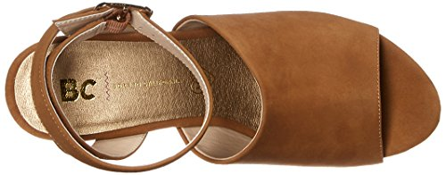 Bc Chaussures Femmes Admettent Une Sandale Wedge Bronzage