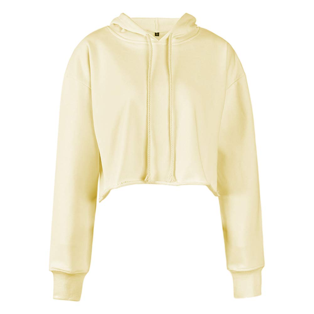 Deylaying Damen Pullover Mit Kapuze Kordelzug Sweatshirt