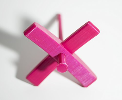 Happy Classy 3D Printed PLA Mini Turkish Spindle 5'' Length 4'' Width 0.7 oz Pink by Happy Classy