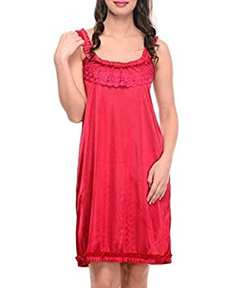 Klamotten Women's Nightdress Nightdresses & Nightshirts at amazon