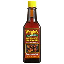 Wright's All Natural Mesquite Seasoning, Liquid Smoke, 3.5-Ounce Bottle (Pack of 12) by Wright's
