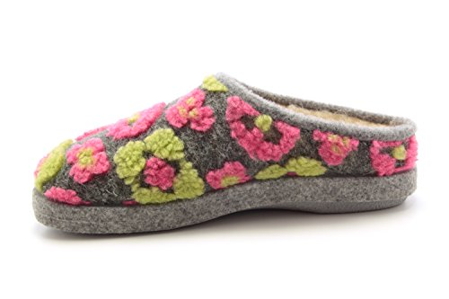 Andres Machado AM001. Chaussons Unisex. Petites et Grandes Pointures de la 32 à 50 - Made In Spain. Flores