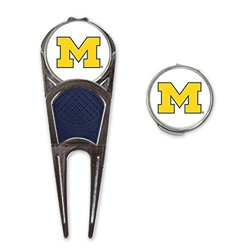WinCraft NCAA University of Michigan A1731512 Golf Mark/Tool/H Clip Combo ()