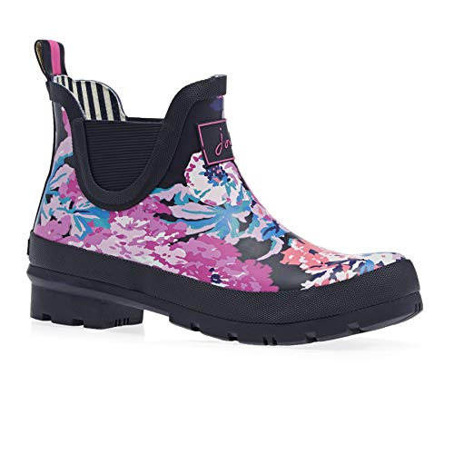 Joules Womens Wellibob Rain Boot, Navy All Over Floral, Size 10]()