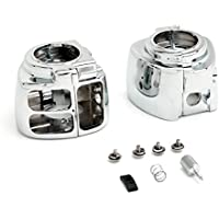 Krator® Harley Davidson Chrome Switch Housings Sportster...