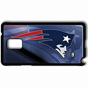Personalized Samsung Note 4 Cell phone Case/Cover Skin 1029 new england patriots 0 Black