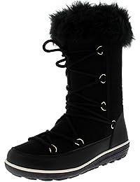 Womens Rain Thermal Warm Snow Winter Knee High Waterproof Boots