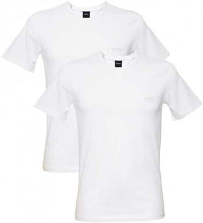 Hugo Boss - Camiseta - Hombre Blanco Blanco: Amazon.es: Ropa y accesorios