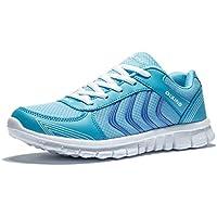 smapavic Womens Calzado deportivo casual de malla transpirable Fashion Sneakers