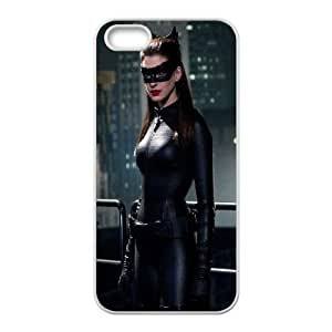 Catwoman Anne Hathaway iPhone 5 5s Cell Phone Case White&Phone Accessory STC_139251