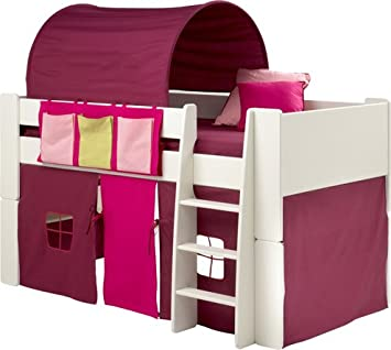 PINK u0026 PURPLE TUNNEL TENT UNDER BED TENT u0026 POCKET PACKAGE TO FIT STEENS MIDSLEEPER  sc 1 st  Amazon UK & PINK u0026 PURPLE TUNNEL TENT UNDER BED TENT u0026 POCKET PACKAGE TO FIT ...
