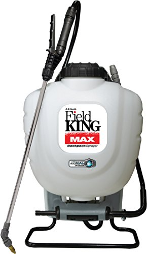 Field King Max 190348 Backpack Sprayer for Professionals Applying Herbicides ()
