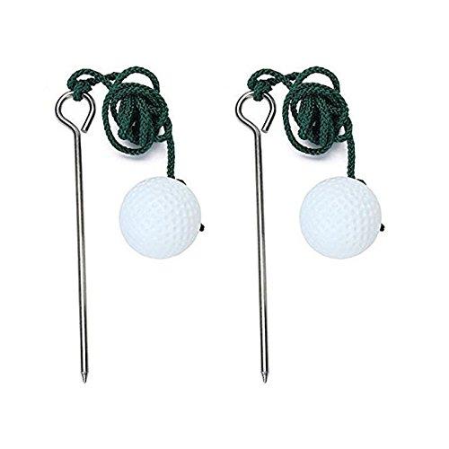 WINOMO 2pcs Golf Driving Range Ball Training Practice Hel...