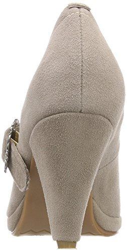 Hirschkogel Women's 3005717 Closed Toe Heels Beige (Taupe 066) fake sale online Manchester online YgwDp