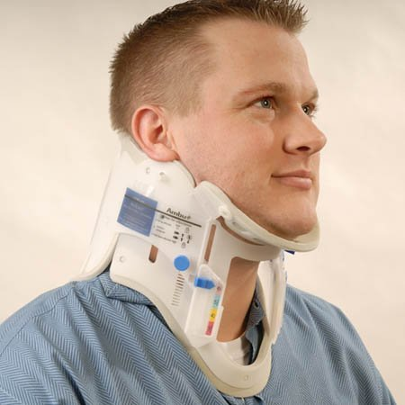 (Ambu Perfit ACE Adjustable Collar for Extrication - One Size Fits All Adults - Model 281000 - Each)