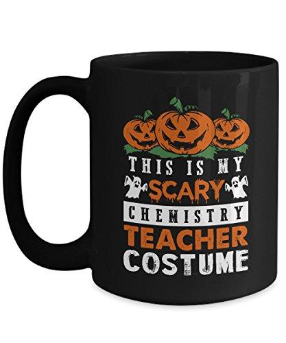 Halloween Black Coffee Mug 15oz This Is My