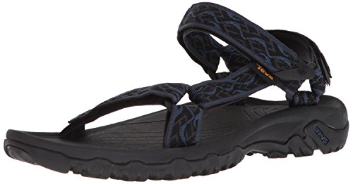 (Teva Men's M Hurricane 4 Sport Sandal, Wavy Trail Navy, 10 M US)