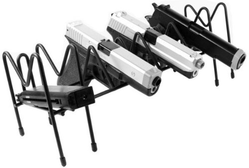 Big Save! Ultimate Arms Gear Steel 8 Slot Pistol - Auto - Revolver - Handgun Gun Storage Shelf Rack