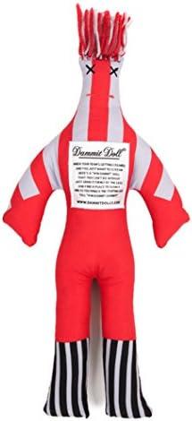 Dammit Doll Scarlett Silver Stress product image