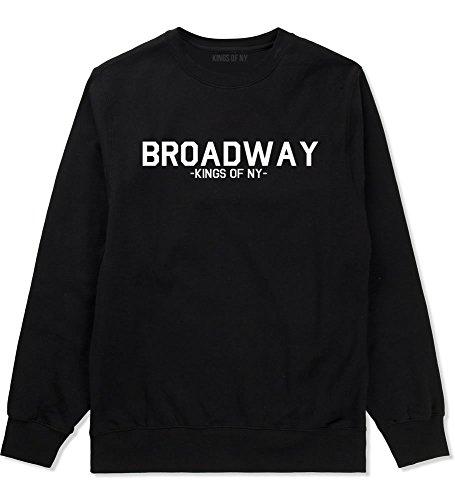 Kings Of NY Broadway NYC New York Crewneck Sweatshirt X-Large - Shop Broadway Nyc Fashion