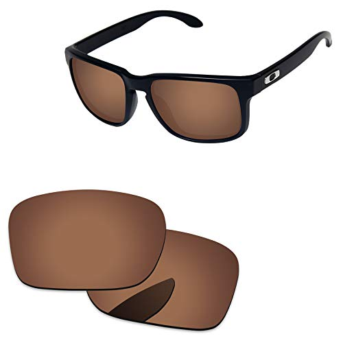 (PapaViva Lenses Replacement for Oakley Holbrook Copper Brown -)