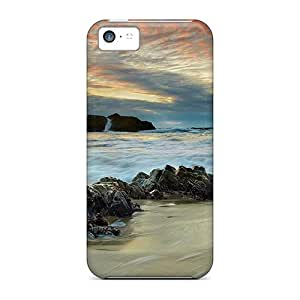 QWw53362XDpx Cases Covers Majestic Beach Scenery Iphone 5c Protective Cases
