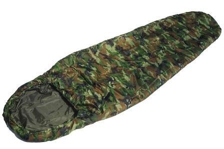 Mil-tec Woodland Camo Commando Sleeping Bag