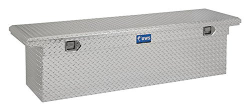 UWS TBSD-69-LP Single Lid Low Profile Deep Aluminum Toolbox with Beveled Insulated Lid
