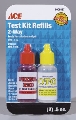 UPC 082901005957, ACE TWO WAY TEST KIT REFILL