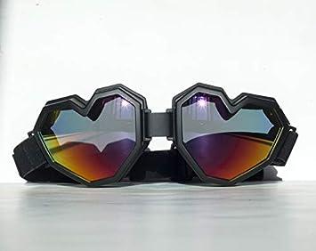 Esqape Heart-Shaped Ski Goggles Snowboard Goggles – Cute, Comfy, 100 UV Protection Goggles for Men Women