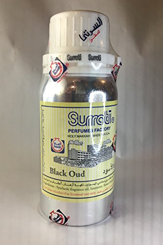 Black Oudh by Surrati Perfumes Concentrated Perfume Oil Attar/Ittar with Aoud note by Surrati