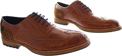 Charles Southwell  Grantham, Chaussures de ville à lacets pour homme marron marron - marron - marron, 40