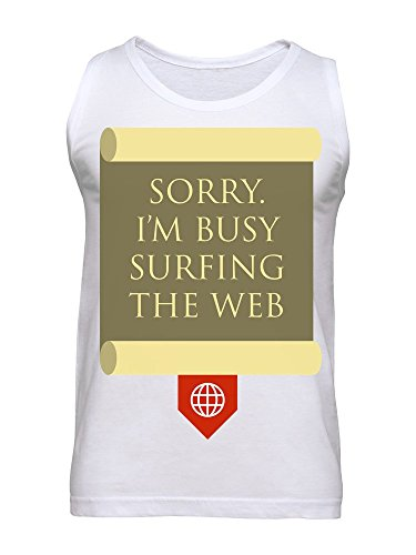 Sorry. I'm Busy Surfing The Web Men's Tank Top