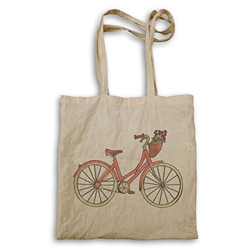 Vintage Retro Fahrrad Tragetasche q773r