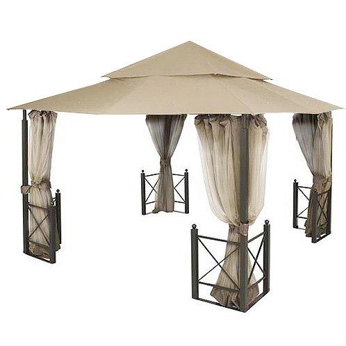 Garden Winds Replacement Canopy And Netting For Harbor Gazebo Riplock 350 Ebay