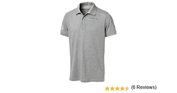 Mercedes AMG Petronas Mens Polo Shirt Camiseta, Hombre, Gris, L ...