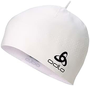 Odlo Move Light - Gorro de esquí para Hombre, Color Blanco, Talla UK: Talla 10 Small