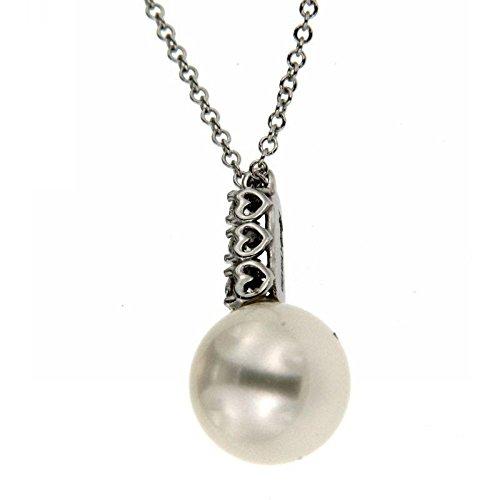 Collier recarlo Femme xd111or blanc perle