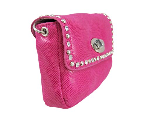 Things2Die4 - Cartera de mano para mujer rosa