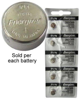 Energizer SR754W SR754SW Silver Battery