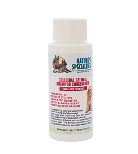 Nature's Specialties Colloidal Oatmeal Pet Shampoo, Trial Size by Nature's Specialties Mfg