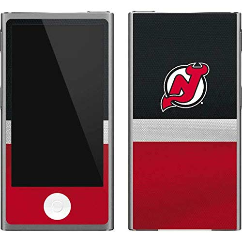 (Skinit NHL New Jersey Devils iPod Nano (7th Gen&2012) Skin - New Jersey Devils Jersey Design - Ultra Thin, Lightweight Vinyl Decal Protection )