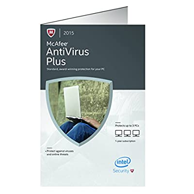 McAfee 2015 Antivirus Plus 3 PC (3-Users)