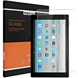 MEGOO Screen Protector for Fire HD 10 inch Screen Protector [High Definition][Easy Installation] Tempered Glass Screen Protector for Kindle Fire HD Kids Edition Tablet (7th Generation, 2017 Release)