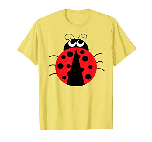 Emojis Ladybug Insect Shirt | Funny Costume Gift T-Shirt -