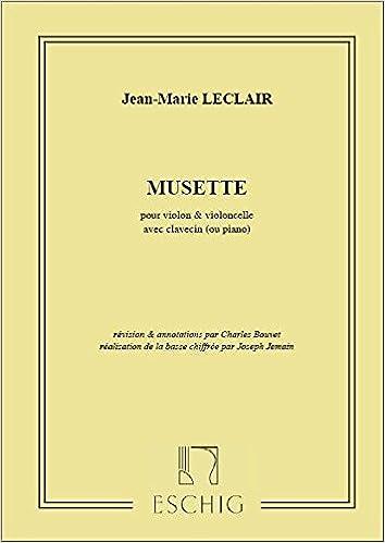 Livre gratuits Musette Violon-Vlc-Piano Ou Clavecin (Bouvet pdf, epub ebook