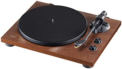 Teac – TN-280BT-AWA – Stereo Turntable with Bluetooth – Walnut