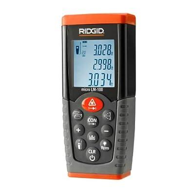 Ridgid 36158 Micro LM-100 Laser Distance Meter,