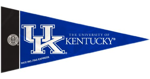 Rico NCAA Kentucky 8 Pc Mini Pennant Pack Sports Fan Home Decor, Multicolor, One Size by Rico